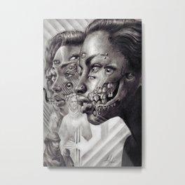 UNTITLED MINDSCAPE Metal Print
