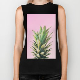Pineapple Pink Biker Tank