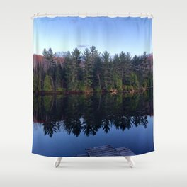Five Trees, or So  Shower Curtain