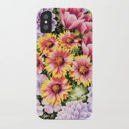 garden glow iPhone Case
