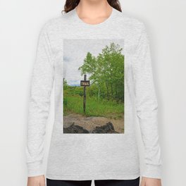 Looking For A Trail Long Sleeve T-shirt