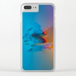 Don't Forget to Smell the Flowers Clear iPhone Case