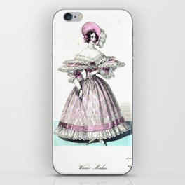 Viennese Fashion 1836 iPhone Skin