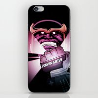 thanos iPhone & iPod Skins featuring Infinite Power by Peter X. Blanco