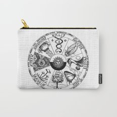 Wiccan Wheel of the Year Carry-All Pouch