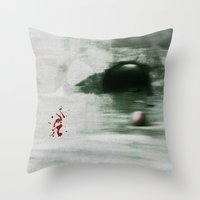 golf Throw Pillows featuring Golf by Mr and Mrs Quirynen