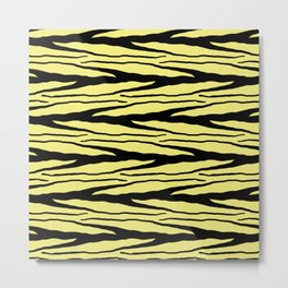 A New Wild - Yellow Metal Print