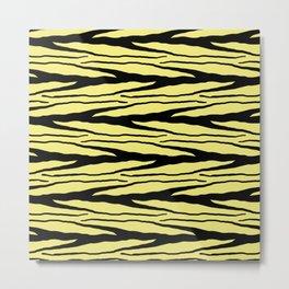 A New Wild - Yellow Metal Print