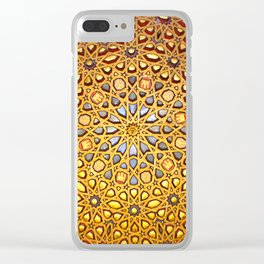 Star of Gold Clear iPhone Case