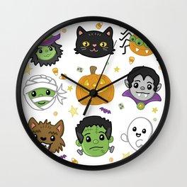 Spooky Doodles Wall Clock