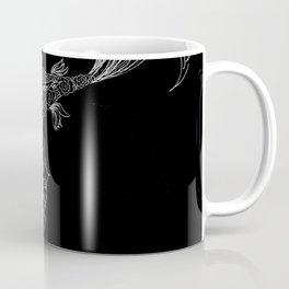 Midnight Rose Koi Coffee Mug
