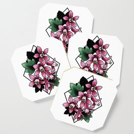 Red Flowering Currant Coaster