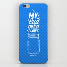 Psalm 23:5 iPhone & iPod Skin