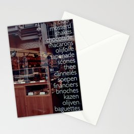 At the bakers Stationery Cards