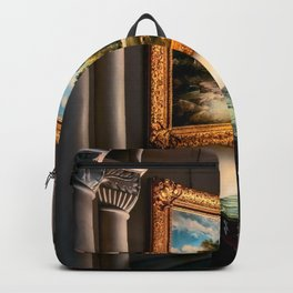 Vintage Hall Painting Backpack