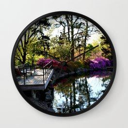 Muscogee (Creek) Nation - Honor Heights Park Azalea Festival, No. 02 of 12 Wall Clock