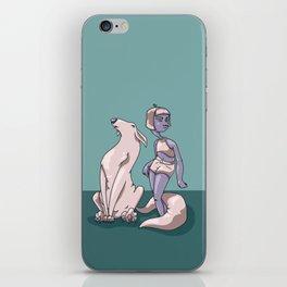 Sassy Hound iPhone Skin