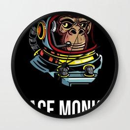 Space Monkey Fighting Club Astronaut Boxing Club Wall Clock
