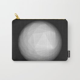 A Geometric Moon Carry-All Pouch