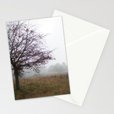 Tree in the mist Stationery Cards