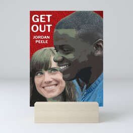 Get Out Movie Poster Mini Art Print