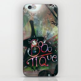 BOOO-tique! iPhone Skin
