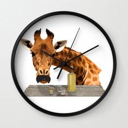 El Girafo Wall Clock