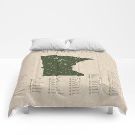 Minnesota Parks Comforters