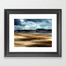 Instow beach Framed Art Print