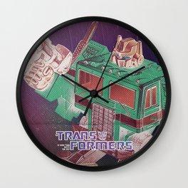 The Transformers / Optimus prime Wall Clock