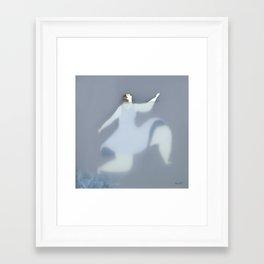 Dona d'aigua III Framed Art Print