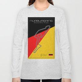 Nurburgring Grand Prix Circuit Long Sleeve T-shirt