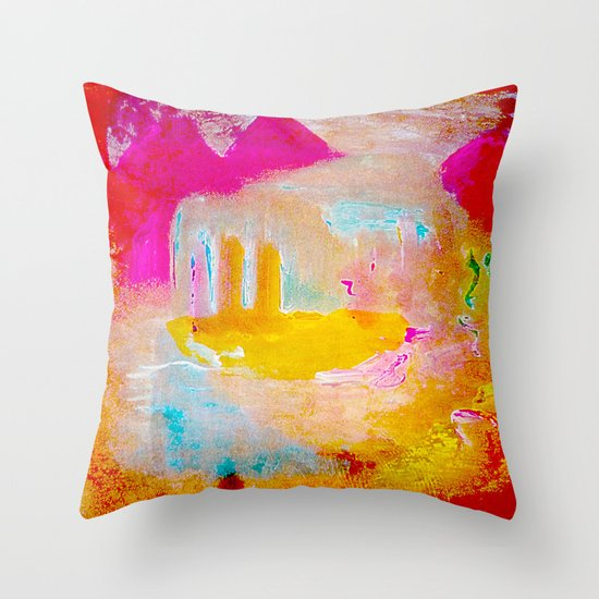 Iahad Throw Pillow
