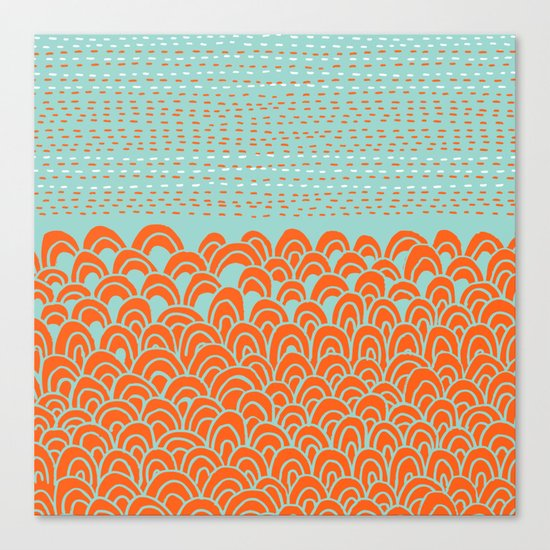 Infinite Wave Canvas Print
