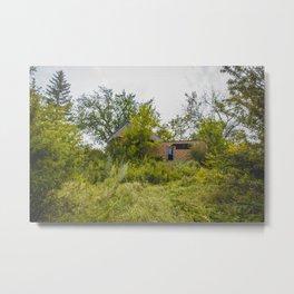 Barkman House, Arena, North Dakota 1 Metal Print