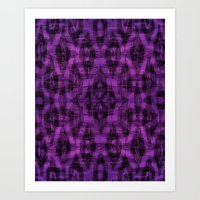 ikat Art Prints featuring Ikat by Charlene McCoy