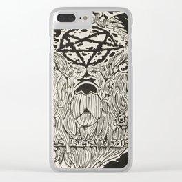 Per Aspera Ad Astra Clear iPhone Case