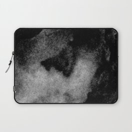 Textures (Black and White version) Laptop Sleeve