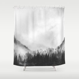 Moody clouds 4 Shower Curtain