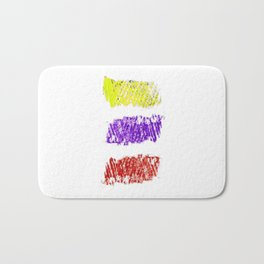 Flag of Colombia-Colombian,Bogota,Medellin,Marquez,america,south america,tropical,latine america Bath Mat