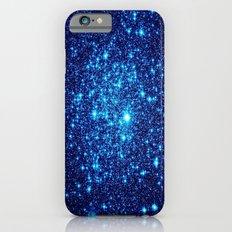 Vivid Blue gALaxY Stars iPhone 6s Slim Case