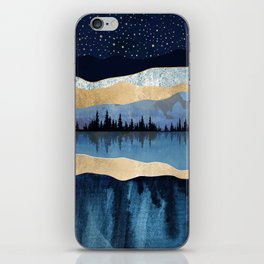 Midnight Lake iPhone Skin