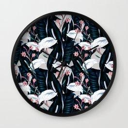 Flowering exotic botany II Wall Clock