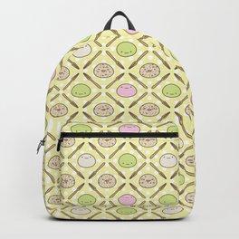 Mochi Kochi | Pattern in Yellow Backpack