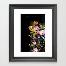 Victorian Flowers&Fruits Framed Art Print