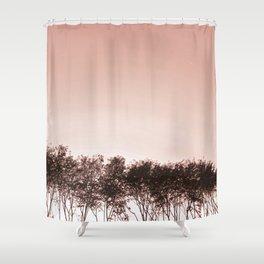 Blush pinky sky Shower Curtain