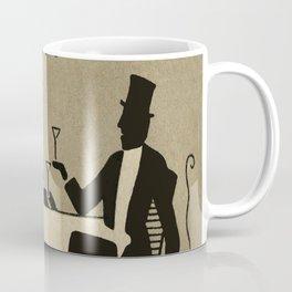 Vintage Dapper Men with Martinis Coffee Mug