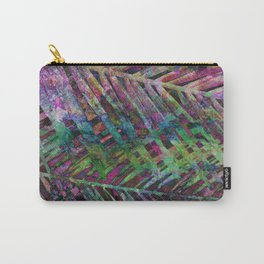 Palms in Multi-Color Carry-All Pouch