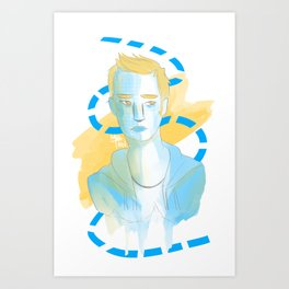 Tired Art Print