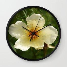 Flowers London 4 Wall Clock
